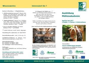 Mühlenakademie Folder 1