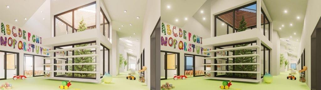 Storchennest – Entwurf eines Kindergartens in Haitzendorf