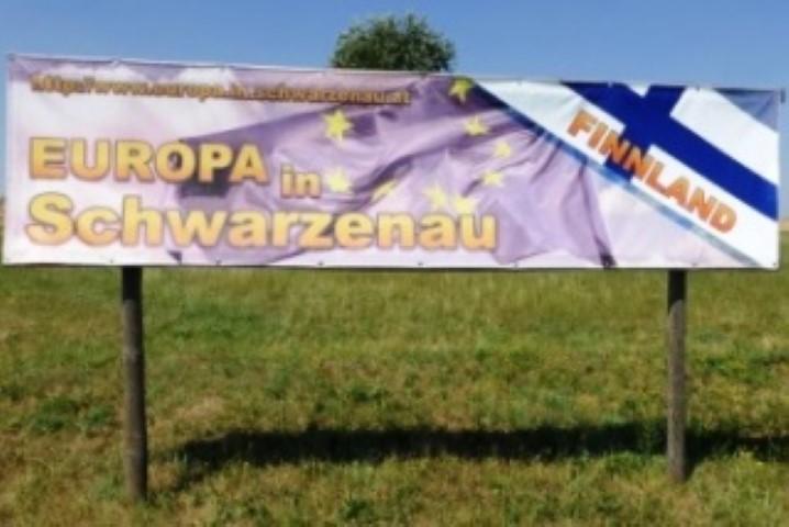 europa in schwarzenau banner