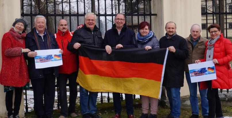 Team Europa in Schwarzenau (c) Gemeinde Schwarzenau