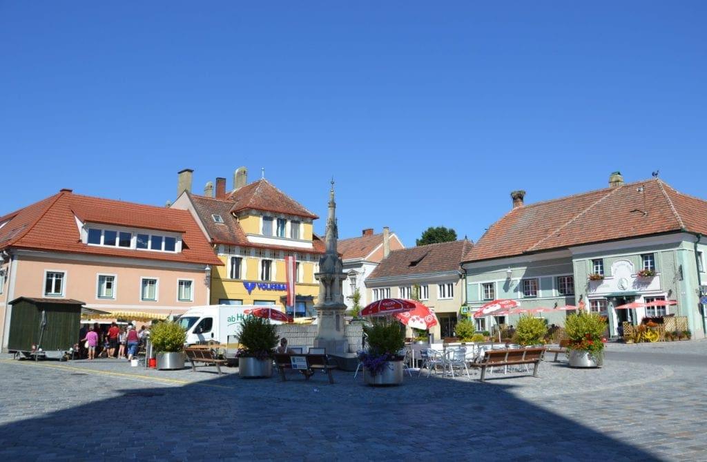 Gföhl_Hauptplatz (c) Stadtgemeinde Gföhl
